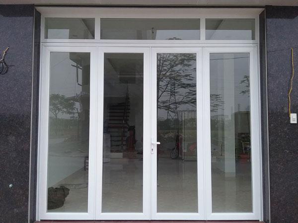 cửa kính khung nhôm