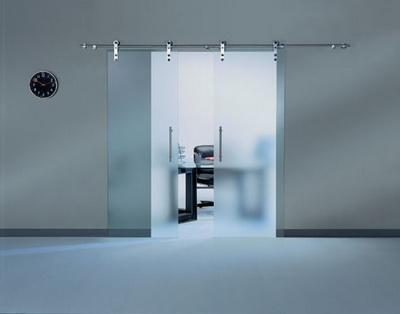 Cửa treo kính cường lực Là Ánh -phụ kiện cửa treo