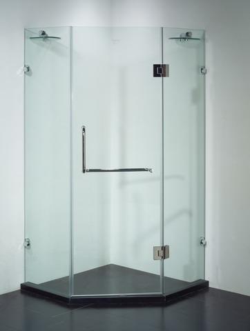 Vách kính tắm đứng loại cao cấp hình Cabin khép kín