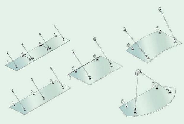 Một số hình dạng sảnh mái kính